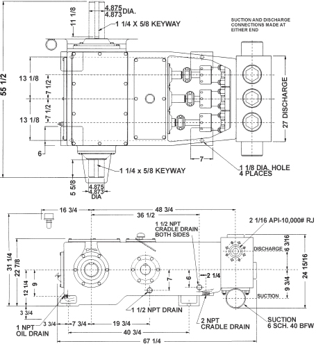 Smc well servicing pumps ws340 product blueprint malvernweather Image collections